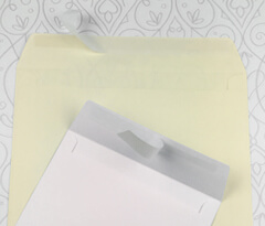 Peel and Seal Wedding Envelopes